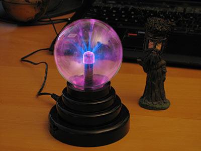 Электроника Плазменная Лампа