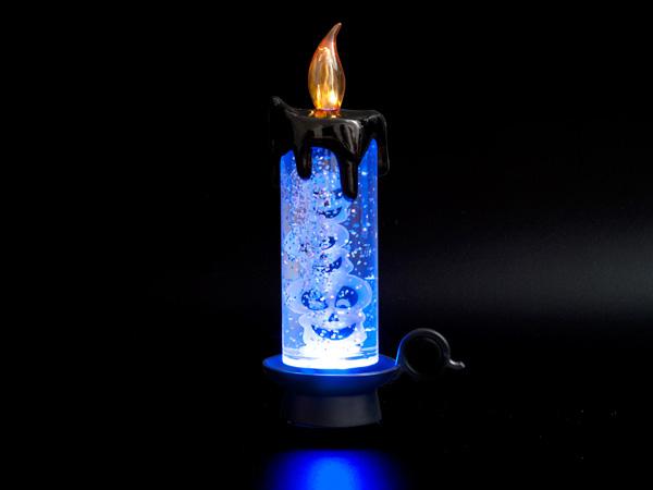 USB свеча светодиодная с черепами и блестками Orient CL1303