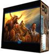 Глянцевые обои для корпуса (миди-тауер) –'Warcraft' (Размер 48Х43)