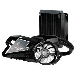Accelero Hybrid система водяного охлаждения видеокарты с вентиляторами