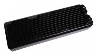 Радиатор для водяного охлаждения Black Ice SR1 360 черный