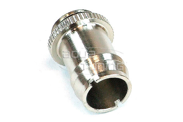 Фитинг елочка Koolance 63184 G1 4 13мм barb knurling silver nickel 1шт