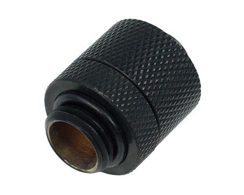 Фитинг соединительный Alphacool HF Screw connector G1 4 Deep Black 17078 черный