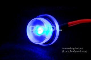 Фитинг заглушка полупрозрачная под светодиод Alphacool Lightning module 15417
