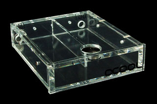 Резервуар для СВО в отсек 5 Alphacool Repack Single Bayres 5 25 Clear