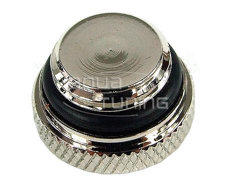Фитинг заглушка G1 4 серебристая Jingway JW P481S Chrome Silver 1 шт