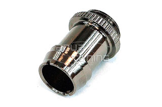 Фитинг елочка Phobya 63070 G1 4 13мм barb fitting knurling black nickel 1шт