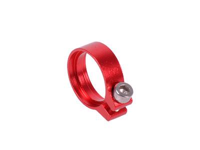 Хомут для шланга 13 14мм красный с винтиком Phobya Hose Clamp 68249
