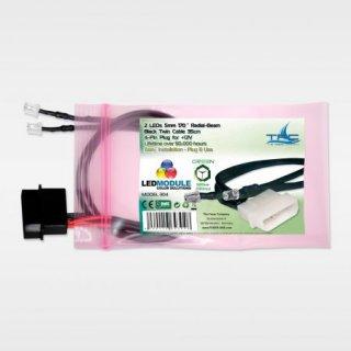 Проставка для вентилятора TFC Xtender Radiator Fan Shroud 120 LED GREEN  303