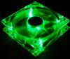 Вентилятор с подсветкой зеленой 92 мм Zalman ZM-F2GL c антивибрац. винтами